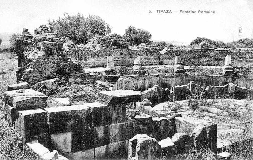 Tipasa : fontaine romaine